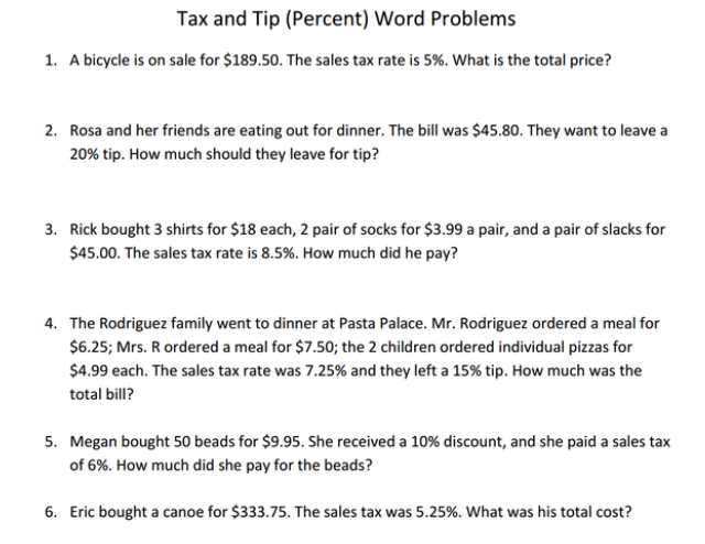 7th grade word problems Fun math practice improve your skills with free problems in 'multi-step word problems' and thousands of other practice lessons.